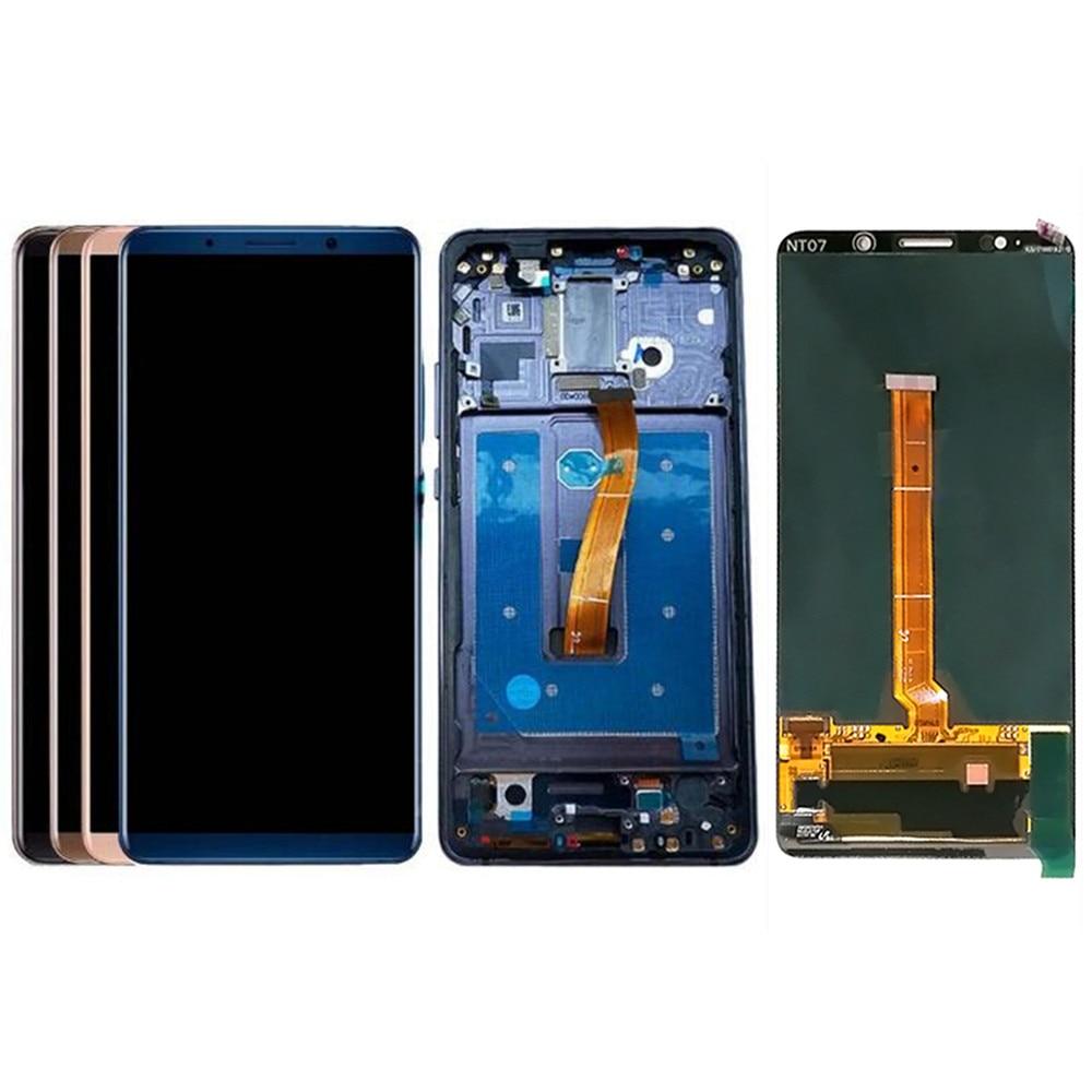 Per Huawei Mate 10 Pro Schermo LCD e Digitalizzatore Assembly con Front Cover di Ricambio!! (Nero/Blu/oro/Moka)