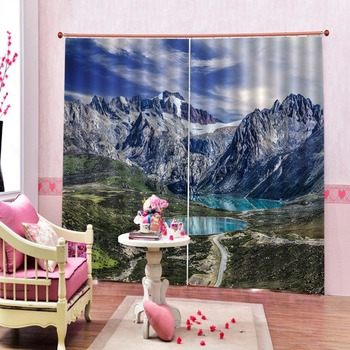 Customize Stereoscopic Curtains Shifeng Window Curtains For Bedroom Living Room Blackout Height Modern Curtains