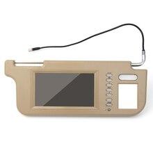 LCD Screen interior mirror Visor Monitor Rear Camera