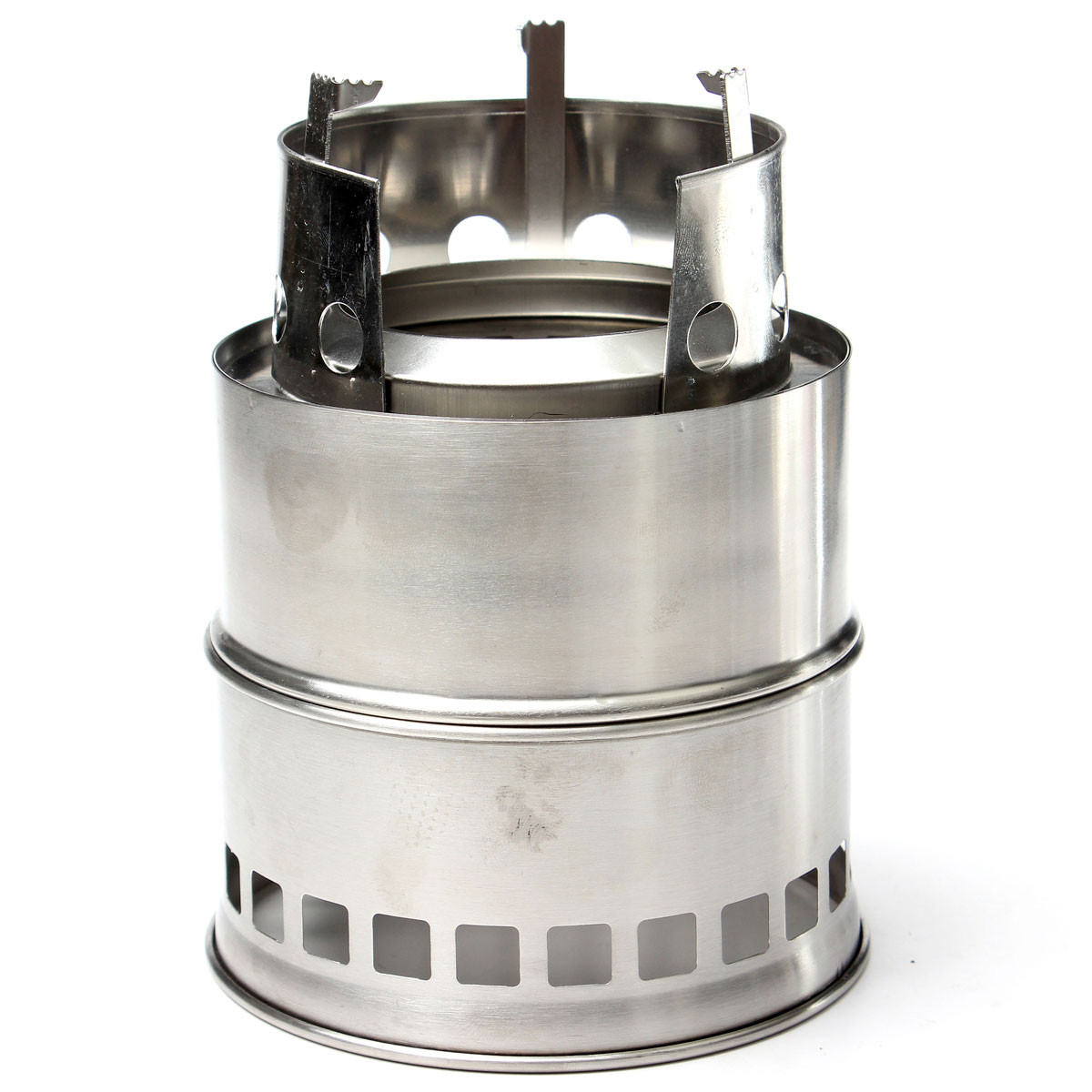 Outdoor Wood Coal Burning Stove Backpacking Portable Survival Camping Stove  Multi Fuel Burning Cook Stove Camping - Popular Wood Cook Stove Manufacturers-Buy Cheap Wood Cook Stove
