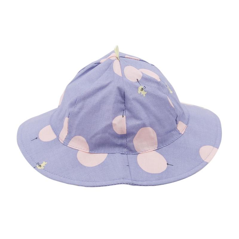 1 Pc Nette Kleinkind Kinder Sonne Kappe Polka Dot Baby Eimer Hut Sommer Im Freien Baby Mädchen Junge Kappe Sonne Strand Hüte