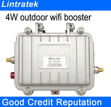 Lintratek outdoor WiFi booster 2 4G 802 11b g n Wireless 4Watt Wifi Access Point high