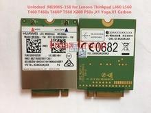 Débloqué ME906S ME906S-158 4G NGFF pour Thinkpad L460 L560 T460 T460s T460P T560 X260 P50s, X1 Yoga, X1 Carbone JINYUSHI stock