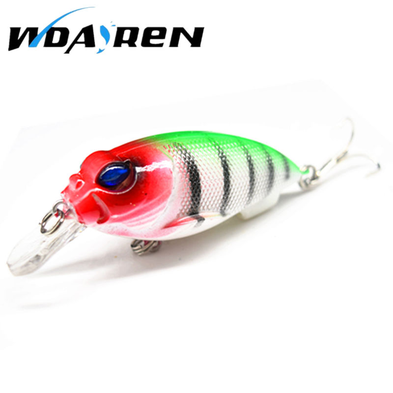 WDAIREN 1Pcs pesca crank bait hard Bait 3D Eyes Lifelike 7cm 9.6g tackle artificial lures swim bait fish japan wobbler FA-321 1pcs 12cm 14g big wobbler fishing lures sea trolling minnow artificial bait carp peche crankbait pesca jerkbait ye 37