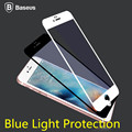 0.3MM Baseus Silk-screen Blue Light Protection Tempered Glass Film For iPhone 6 6S Plus Full Screen Protection Anti-Fingerprints