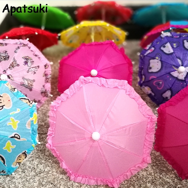 Poupee Accessoires Colore Parapluie Pour Barbie Poupee Maison