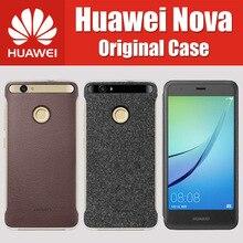 Для Huawei NOVA Чехол Флип 5 дюймов MSM8953 Оригинальный PU синтетическая Пластиковые кожа Магнитная окно Smart View Обложка CAZ-AL10