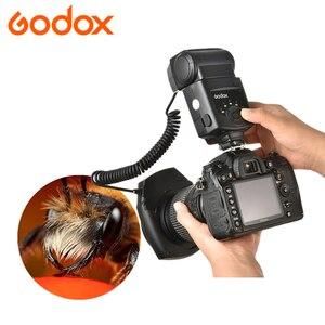 Image 1 - Godox ML 150 GN10 49 52 55 58 62 67 مللي متر محول العدسة خواتم ماكرو خاتم فلاش Speedlite لكانون نيكون بنتاكس أوليمبوس كاميرات DSLR