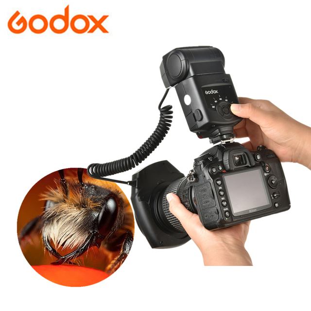 Godox ML 150 GN10 49 52 55 58 62 67 مللي متر محول العدسة خواتم ماكرو خاتم فلاش Speedlite لكانون نيكون بنتاكس أوليمبوس كاميرات DSLR