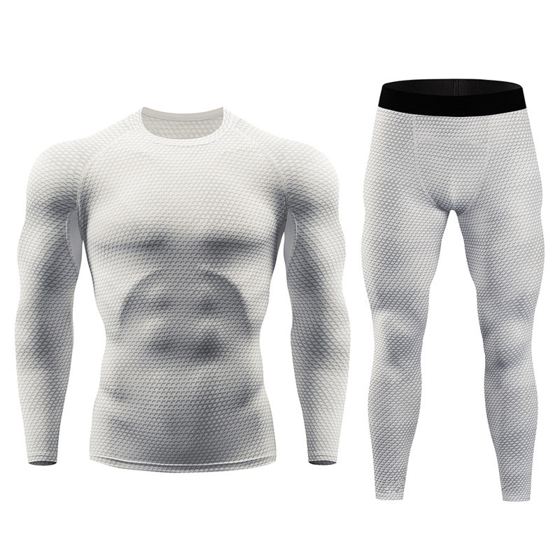 Men 39 s Thermal Underwear Men 39 s Warm Clothes Long Johns Set Warm Tights Winter Long Compression Underwear Quick Dry in Men 39 s Sets from Men 39 s Clothing