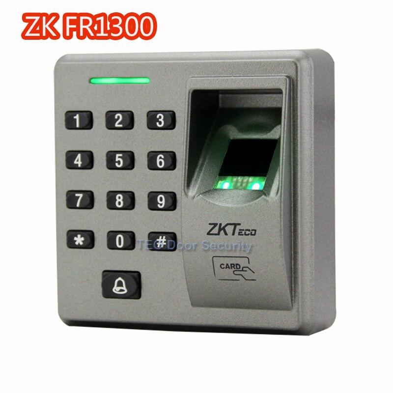 ZKTeco FR1300 RS485 smart Fingerprint+PIN+RFID reader for inbio access control system control Finger Sensor