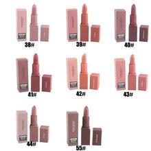 MISS ROSE Maquiagem 8 Cores Matte Nudez Batons Maquiagem Cosméticos À Prova D' Água de Longa Duração Lábios Lipgloss 8 pçs/lote Frete Grátis