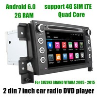 Bluetooth dvd плеер автомобиля аудио стерео Мультимедиа GPS для Suzuki Grand Vitara 2005 2015 сенсорный экран