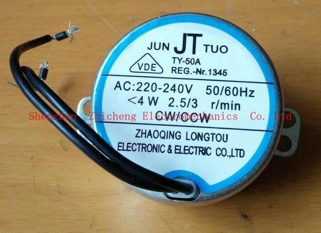 oscillating motor ac synchronous motor ty-50a headbanging ac 220-240v, 4w,