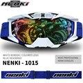 2016 NENKI Бренд Мотокросс Goggle Очки Профессиональный Заездов Gafas Шлем Щит Козырек 5 цвета
