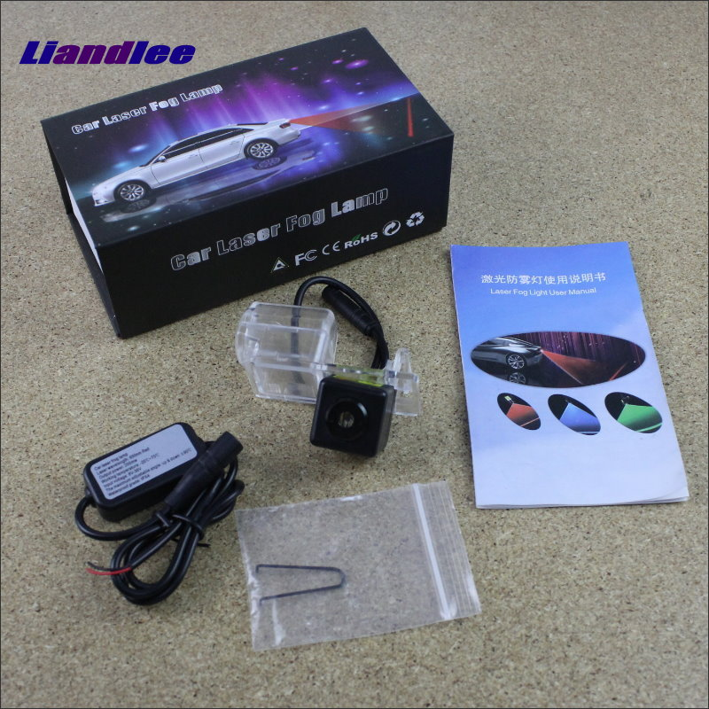 Liandlee Laser Anti Lamp Fog Light For Ford For Mondeo 2013~2015 Outside The Car Warning Alert Light To Shoot The Chandeliers