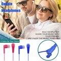 3.5 мм портативный акции наушники Любовь пары-вкладыши наушники адаптер для iphone xiaomi huawei + обмен сплиттер eraphone