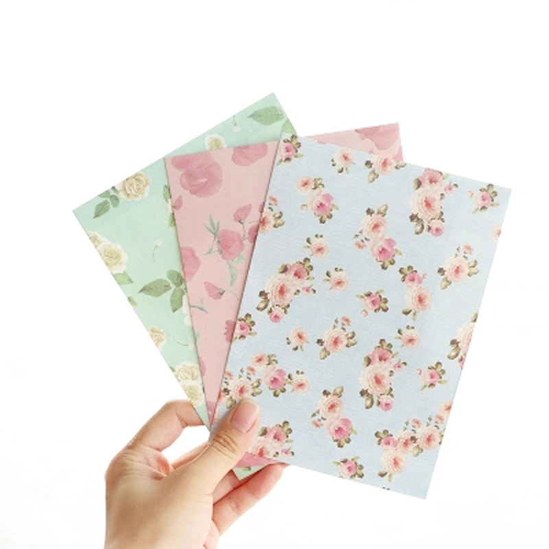 20pcs lot 12 5 17 5cm Creative Color Western Style Letters Love Letter Collection Pure Color Envelopes Students Stationery in Paper Envelopes from Office School Supplies