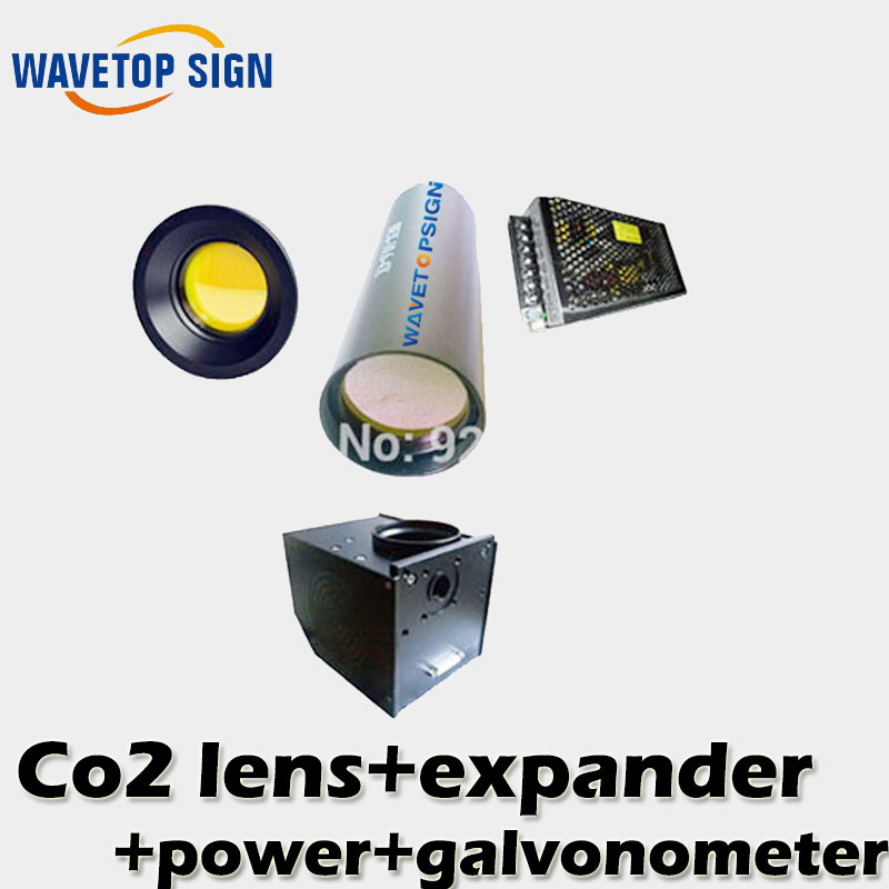 co2 laser galvanometer +scanning lens+power box+beam expander/Analog signal control hot sell optics in surat india focus lens f77 beam bendor 50x10 beam expander 10x front mirror back