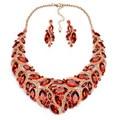 Retro Women Layered Choker Leather Chain Choker Collar Femme Collier Bib Statement Necklace 90s Punk Collares for Women YN1037-1