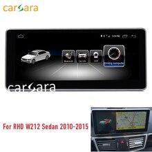 2G RAM 10,25 «Android монитор для правой руки диск W212 S212 2010-2015 E200 250 сенсорный экран gps навигации мультимедийный плеер