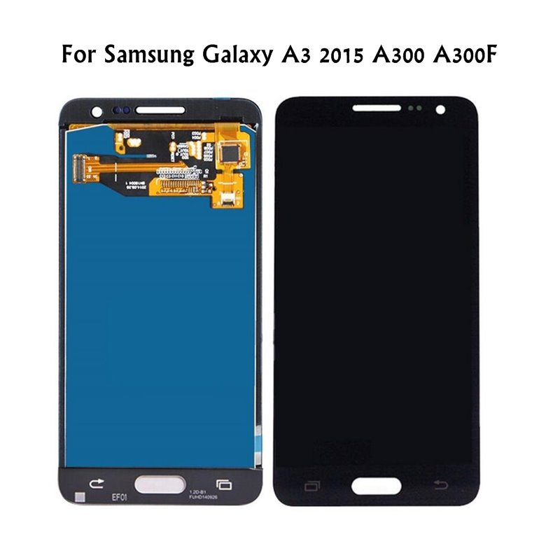 For Samsung Galaxy A3 A300 A300F SM-A300F LCD Display 2015 Touch Screen Digitizer Assembly For Samsung A3 2015 LCD Screen