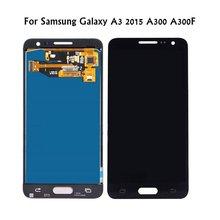 Продажа Для Samsung Galaxy A3 A300 a300f sm-a300f ЖК-дисплей Дисплей 2015 Сенсорный экран планшета Ассамблеи для Samsung A3 2015 ЖК-дисплей Экран