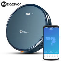 NEATSVOR X500 Robot Vacuum Cleaner 1800PA Poweful Suction 3in1 pet hair home dry wet mopping cleaning robot Auto Charge vacuum
