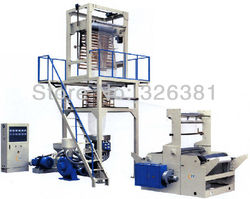 PE/polietileno HDPE LDPE rotativo cabezal plástico película soplada máquina extrusora película soplada