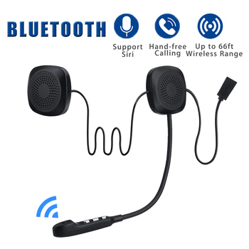 Audew 50M Waterproof Moto bluetooth Wireless Anti-interference Helmet Headset Hands Free bluetooth V4.2 Intercom for Motorcycle