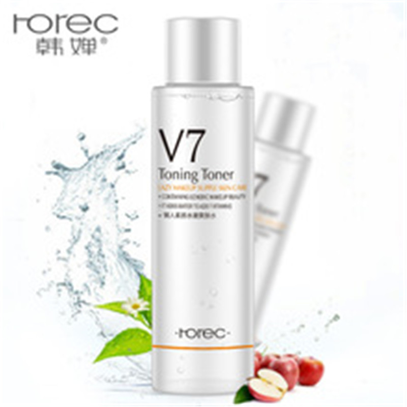 2018 Horec V7 makeup water lazy Toner Moisturizing Lotion nourishes the tender skin moisturizing milk face skin care