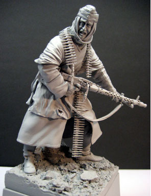 Assembly  Unpainted  Scale 1/16  120mm 6th Army Stalingrad 1942     Figure Historical Resin Model
