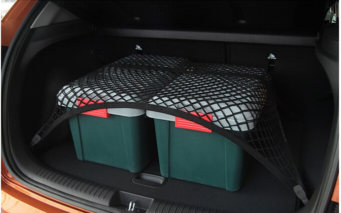 High Elastic single layer car trunk net cargo net Luggage net for Volkswagen Tiguan Tucson Ssangyong Korando Rexton And Actyon image