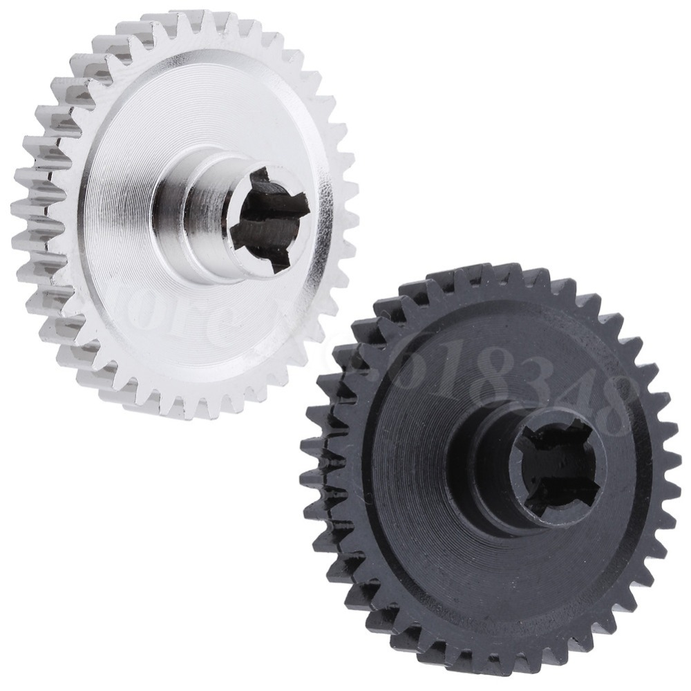 For 1:18 WLtoys A959 38T Metal Spur Diff Main Gear A949 A969 A979 Replacement of A949-24 RC Car 2pcs metal differential driving gear 38t