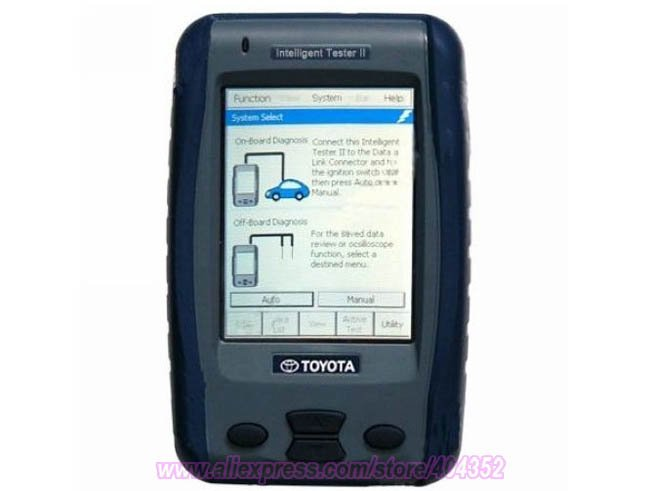 Intelligent II Tester 2 IT2 Lexus With Suzuk SDT Diagnostic/scanner Tool тв приставка supra sdt 99