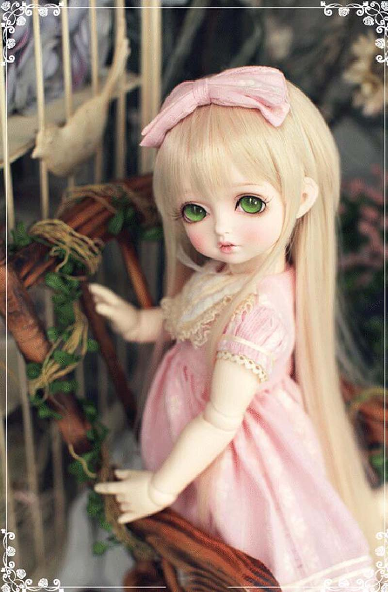 New Arrival 1/4 BJD Doll BJD/SD Lovely Bambis Resin Doll With Free Eyes For Baby Girl Gift