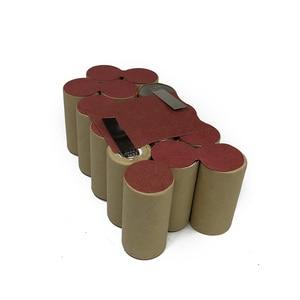 Для электроинструмента AEG 18 в 3000 мАч, Ni MH аккумулятор B1814G B1817G BS18G BSB18G CD