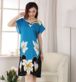 Hot Sale Summer Chinese Women's Cotton Robe Fashion Lady Bath Gown Yukata Nightgown Nuisette Pijama Mujer One Size X34028