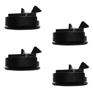 Image 2 - 4 Stuks Ronde Slam Hatch Lock Type Klink Vervanging Plastic Black Met Sleutels Voor Rv Marine Boot Jacht Hatch/ dek Nylon