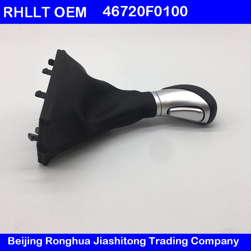 OEM 46720F0100 Automatic shift lever handball with dust cover assembly FOR Hyundai Elantra AD 2015 2018