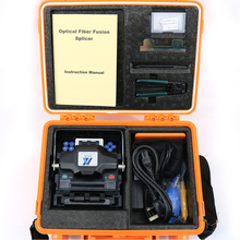 Free shipping ALK-88 Fully automatic Optical fiber fusion splicer  7 seconds fast welding multilingual