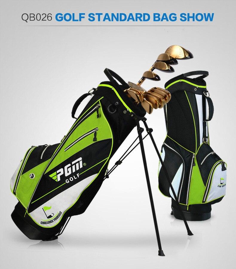Les fabricants ont adapté le nouveau sac de support de golf de PGM les hommes et les femmes tiennent l'édition portative d'ultraportabilité - 6