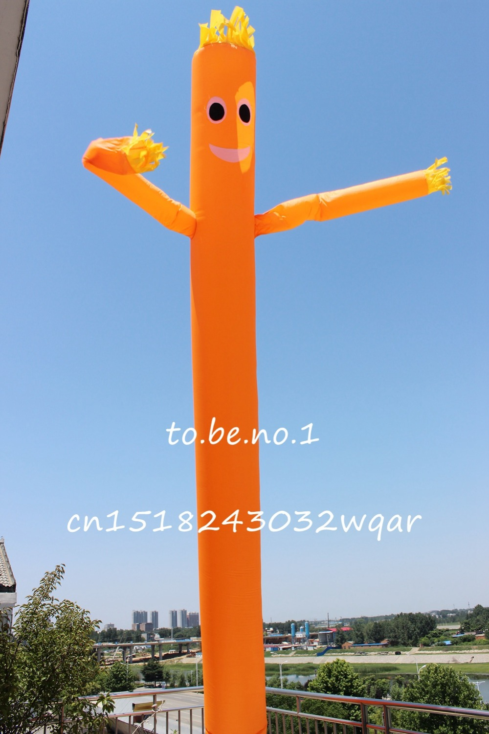 Inflatable Toys 6M 20FT Inflatable Tube Sky Dancer Air Dancer NO blower B1208 цена и фото