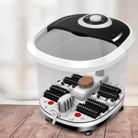 Foot Washer Foot Soaking Deep Bucket Full Automatic Electric Heating Massage Foot Therapy Machine Foot Bathing Househo