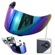 цена на Full Face Motorcycle Motorbike Helmet Lens Visor for LS2 FF352  FF351 FF369 FF384