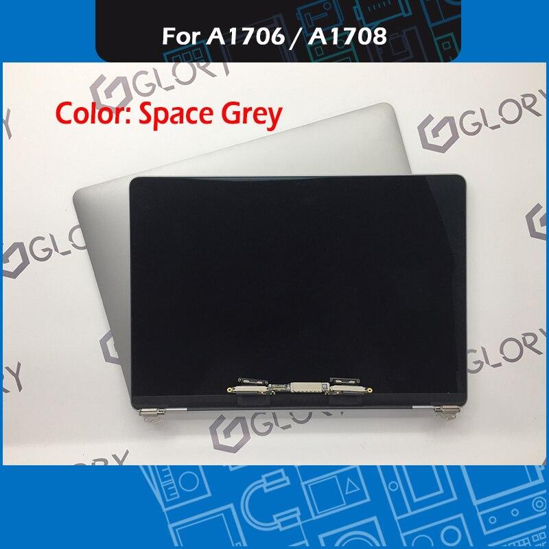 Véritable Complète A1706 LCD Assemblée D'affichage pour Macbook Pro Retina 13 A1708 LCD Assemblée D'écran de Remplacement 2016 2017