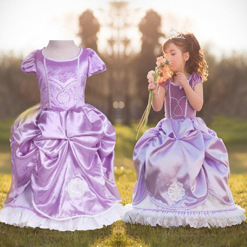 Halloween Christma New Year Costumes For Kids Girls Forever Elsa Dress Princess Vestido Dress Deguisement For Disfraces Carnaval