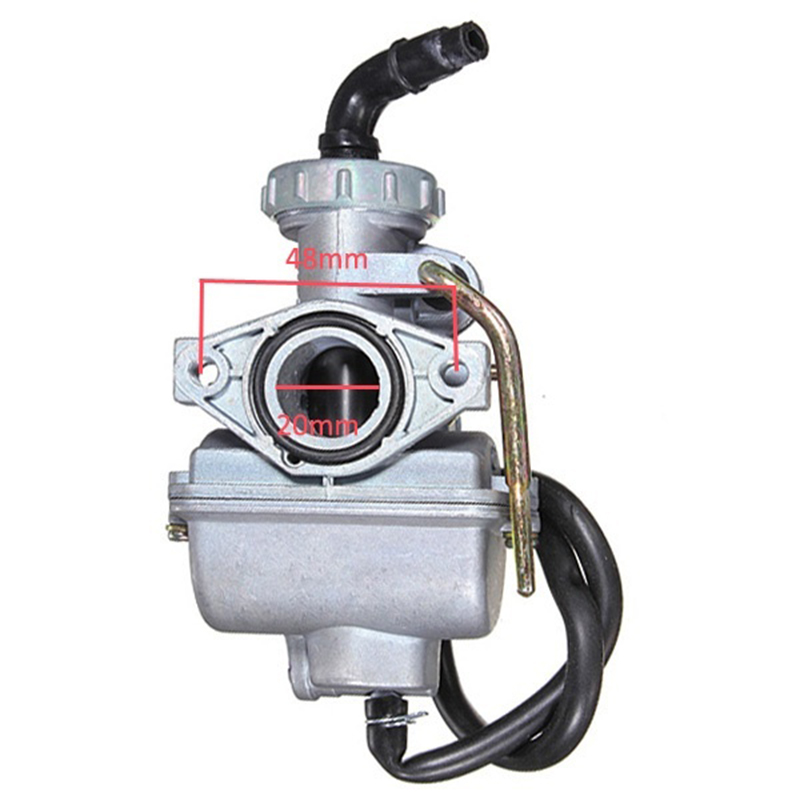 Motorcycle PZ20 20mm Motorcycle <font><b>Carburetor</b></font> Carb For 50cc <font><b>70cc</b></font> 90cc 110cc 125cc 135 image