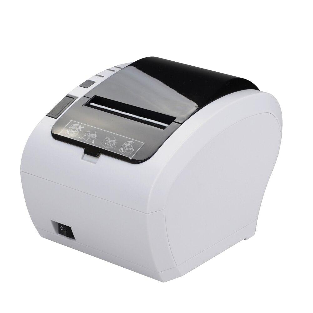 Offre spéciale USB/LAN/COM port POS imprimante thermique de reçu imprimante thermique de coupeur automatique