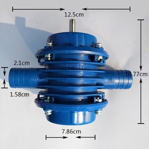 Image 5 - Mini Zelfaanzuigende Hand Elektrische Boor Waterpomp Huis Tuin Centrifugaalpomp Draagbare Power Gereedschap Deel